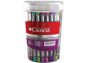 خودکار رنگی  مدل فینو کد  کنکو بسته 50 عددی