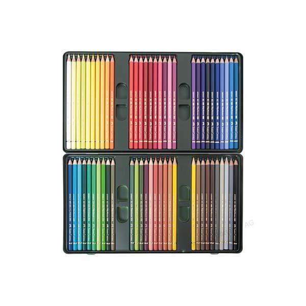 مداد رنگی فلزی پلی کروموس 60 فابر 23110060