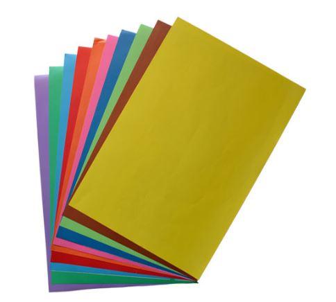 کاغذ رنگی ۱۰برگی A4