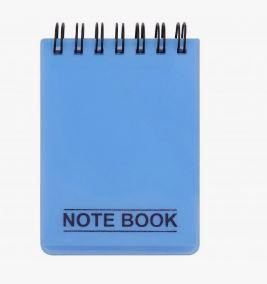 دفتر یادداشت کج راه 100 برگ پاپکو