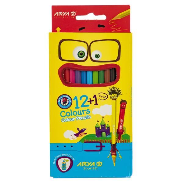 مداد رنگی1+12 آریا 3097-3016