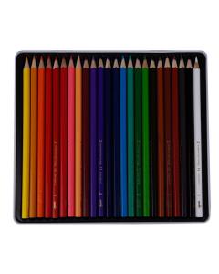 مداد رنگی  24 رنگ فلزی دایناسور 0102011