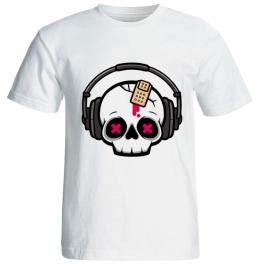 تی شرت مردانه طرح موزیک کد 34002